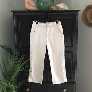 Sailor inspired cropped pants